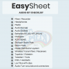 Easy Sheet - Audio Kit